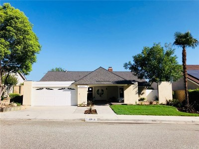 Valencia Single Family Home For Sale: 23831 Sarda Road