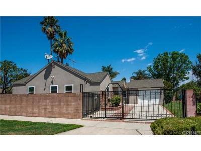 Northridge Single Family Home For Sale: 7827 Lasaine Avenue