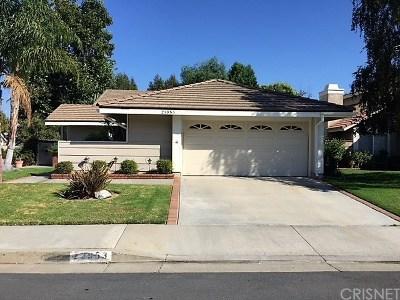 Valencia Single Family Home For Sale: 23953 Via Rosa Linda