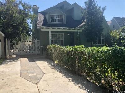 Burbank Single Family Home For Sale: 914 North Avon Street