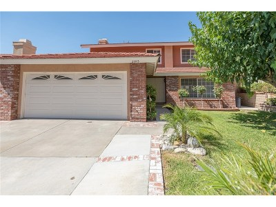 Saugus Single Family Home For Sale: 21443 Angela Yvonne Avenue