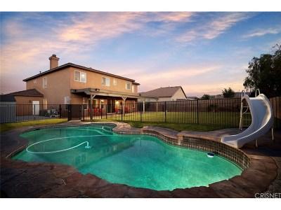 Lancaster Single Family Home For Sale: 41619 Firenze