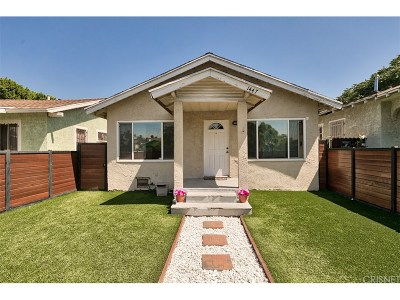 Los Angeles Single Family Home For Sale: 1447 West 60th Place