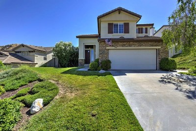Canyon Country Single Family Home For Sale: 17913 Maplehurst Place