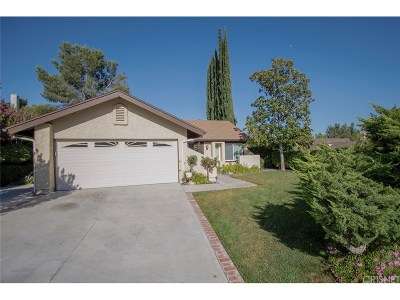 Los Angeles County Single Family Home For Sale: 22959 Magnolia Glen Drive
