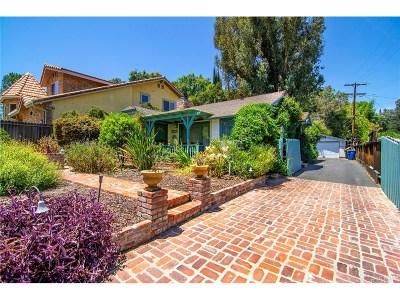 Woodland Hills Single Family Home For Sale: 5017 Canoga Avenue