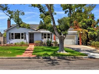 Burbank Single Family Home For Sale: 4301 West Jacaranda Avenue