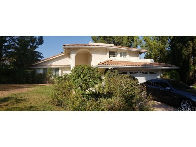 Porter Ranch Single Family Home For Sale: 11730 Porter Valley Drive