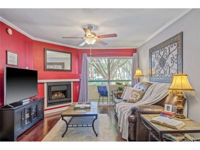 Woodland Hills Condo/Townhouse For Sale: 21550 Burbank Boulevard #113
