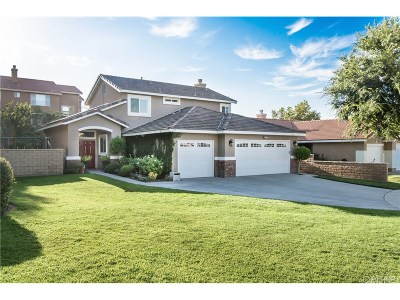 Canyon Country Single Family Home For Sale: 26501 Royal Vista Court