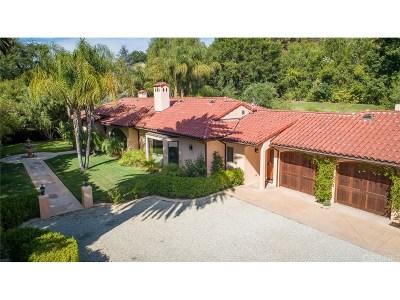 Tarzana Single Family Home For Sale: 4960 Vanalden Avenue
