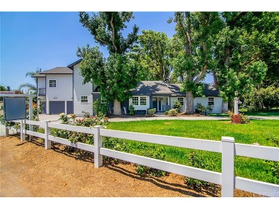 Woodland Hills Single Family Home For Sale: 5043 Dumont Place