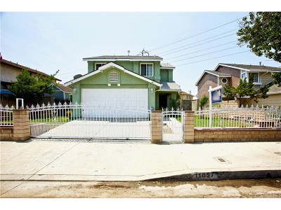 Los Angeles County Single Family Home For Sale: 11857 Gladstone Avenue