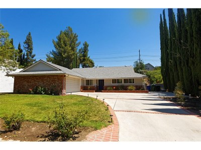 Granada Hills Single Family Home For Sale: 12156 Monogram Avenue
