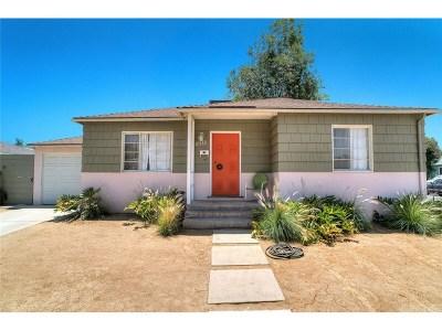 Encino Single Family Home For Sale: 17512 Bullock Street