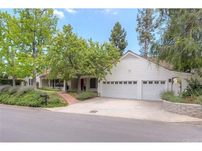 Single Family Home For Sale: 16040 Meadowcrest Road