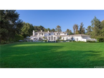 Single Family Home For Sale: 24002 Long Valley Road