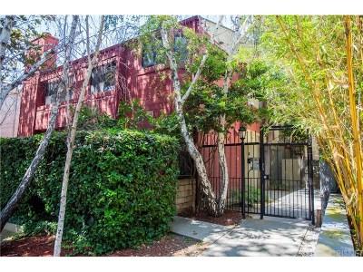 Studio City Condo/Townhouse For Sale: 4247 Whitsett Avenue #2