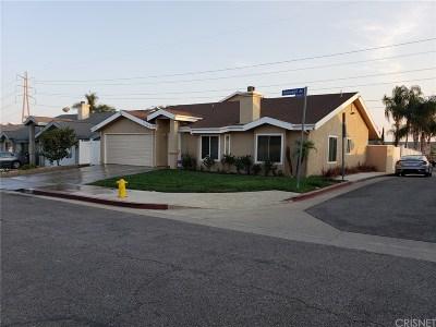 Sylmar Single Family Home For Sale: 11525 Hunnewell Avenue