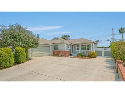 Northridge Single Family Home For Sale: 16724 Superior Street