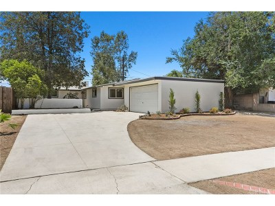 Los Angeles County Single Family Home For Sale: 20324 Hamlin Street