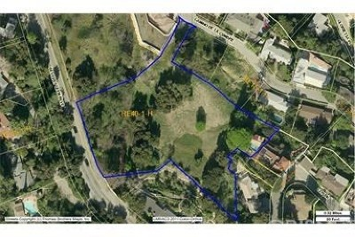 Sherman Oaks Residential Lots & Land For Sale: 3471 Camino De La Cumbre