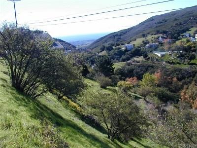Malibu Residential Lots & Land For Sale: 4003 Latigo Canyon Road