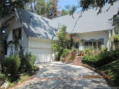Woodland Hills Single Family Home For Sale: 4371 Morro Drive