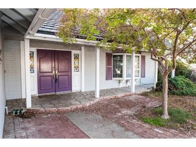 Newbury Park Single Family Home For Sale: 307 Charro Avenue