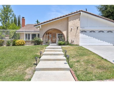 Agoura Hills Single Family Home For Sale: 28839 Calabria Drive