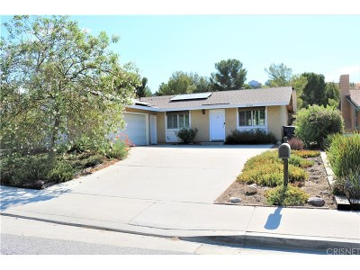 Canyon Country Single Family Home For Sale: 29242 Abelia Road