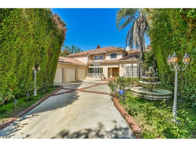 Encino Single Family Home For Sale: 5110 Gloria Avenue
