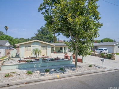 Saugus Single Family Home For Sale: 22049 Alamogordo Road