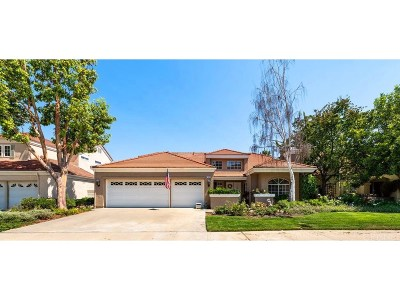 Moorpark Single Family Home For Sale: 11931 Silver Crest Street
