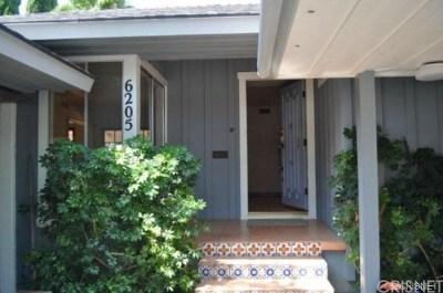 Tarzana Single Family Home For Sale: 6205 Canby Avenue