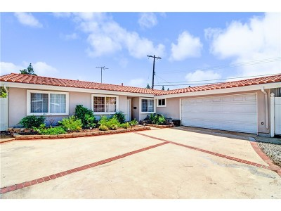 Granada Hills Single Family Home For Sale: 16440 Barneston Street