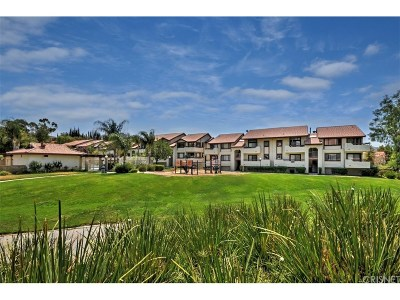 Canyon Country Condo/Townhouse For Sale: 18146 American Beauty Drive #1055