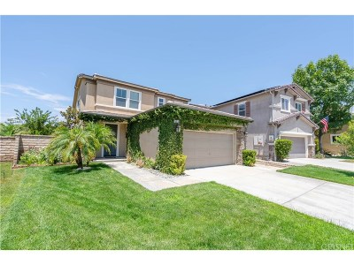 Saugus Single Family Home For Sale: 19931 Darla Court