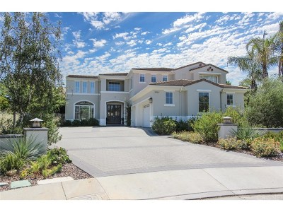 Calabasas Single Family Home Sold: 3902 Coral Place