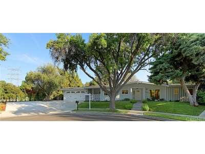 Tarzana Single Family Home For Sale: 18600 Palomino Drive