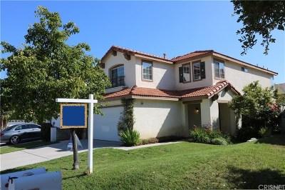 Stevenson Ranch Single Family Home For Sale: 25706 Hammet Circle