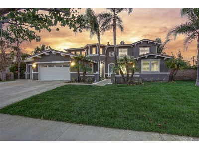 Porter Ranch Single Family Home For Sale: 10325 Edgebrook Way