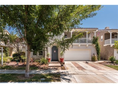 Los Angeles County Single Family Home For Sale: 27054 Clarence Court
