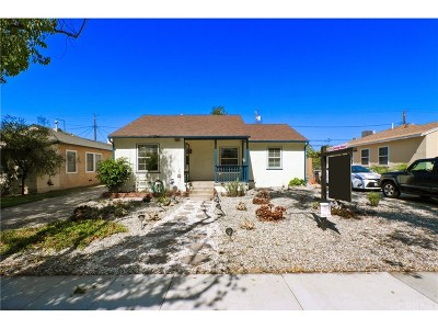 Burbank Single Family Home For Sale: 2101 North Rose Street