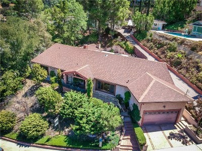 Encino Single Family Home For Sale: 3554 Alginet Drive