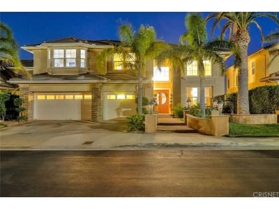 Porter Ranch Single Family Home For Sale: 20300 Via Cellini