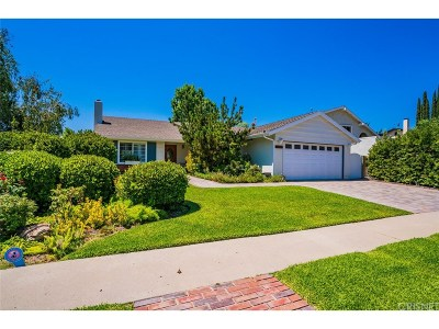 Agoura Hills Single Family Home For Sale: 5827 Dovetail Drive