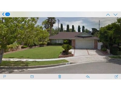 Northridge Single Family Home For Sale: 9508 McLennan Avenue