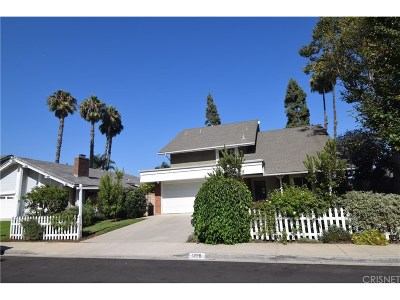Camarillo Single Family Home For Sale: 1228 Old Ranch Road