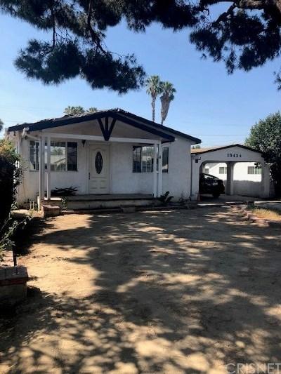Single Family Home For Sale: 15434 Romar Street